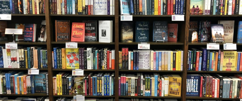 What you do in a bookshop says a lot about you